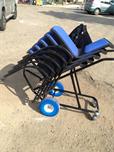 עגלה לכסאות