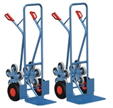 עגלת ברזל 5 גלגלים למדרגות